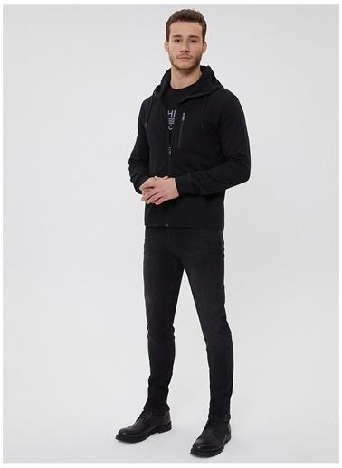 Lee Cooper Lee Cooper Siyah Sweatshirt Siyah